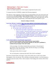Assignment - Reflection Paper #2