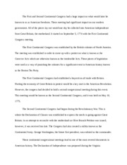 Constitutional Law Short Essay 1