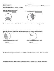 Lesson 6 HOMEWORK - Area of a Sector (2).pdf