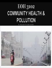 1 INTRODUCTION TO AIRPOLLUTION 1