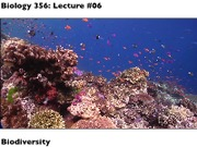 Biology 356 Winter 2013 Lecture 06