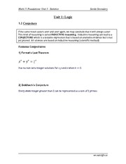 1.2 Conjecture