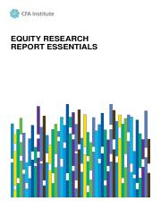EquityResearchReportEssentials_CFA