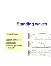 32 - Standing Waves