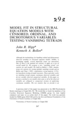 Model-fit-in-structural-equation-models-with-censored,-ordinal,-and-dichotomous-variables-Testing-va