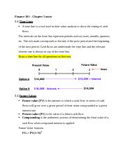 Finance 301 – Chapter 5 notes.docx