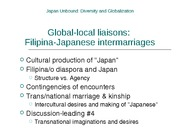 Filipina-Japanese Intermarriages Presentation