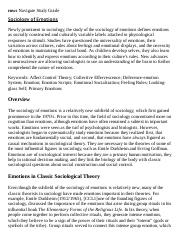 Sociology of Emotions Research Paper Starter - eNotes.pdf