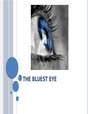 The Bluest Eye Powepoint