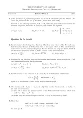 Tutorial 4 Answers