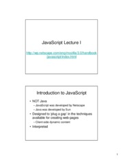 javascript_lecture_1
