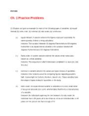 psy 315 chapter 9 problem 17