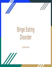 Binge Eating Disorder.pptx