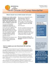 English newsletter 8.28.14