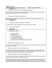 Rhetorical Worksheet