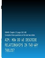 lesson49-relationships with two-way tables