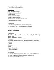 Fit For Life Recipes- Teen 1
