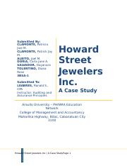 230069862-Howard-Street-Jewelers-Inc-Case-Study.docx