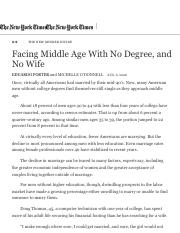Facing Middle Age With No Degree, and No Wife - The New York Times.pdf