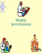 8. Managing Service Businesses.pptx