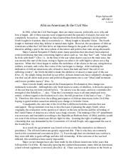 African Americans & the Civil War.docx