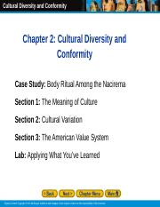 Ch.2 Cultural Diversity and conformity.ppt