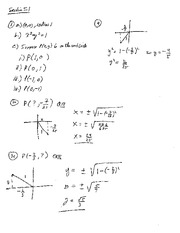 Homework 2 Solution Summer 2014 on Pre-Calculus