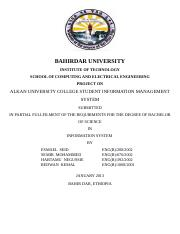 Alkan University College Student Information Management Syst.doc