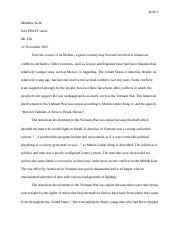 martin luther king jr beyond vietnam speech analysis