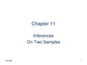 interferance of two samples