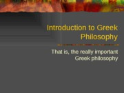 Greek Philos