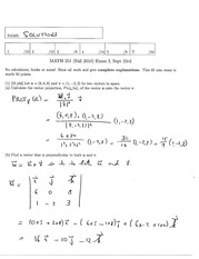 Math 2415 Final Version 17 and Solutions