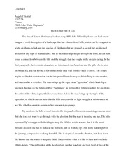 Elephants research paper