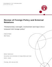 2014-01-16---Written-Submission-to-the-OJCFAT---Review-of-Foreign-Policy-and-External-Relations---Gr