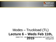 Modes_Truckload