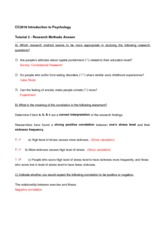 Tutorial 2 Research Method Answer