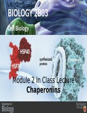 Lecture 2 Chaperonins 2.pptx