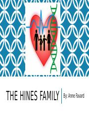 THE HINES FAMILY.pptx