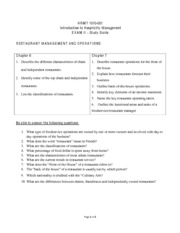 HRMT Study Guide