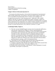 Naomi Wilson Chapter 4 Assignment-Govt & Not-for-Profit Accounting.doc