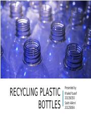 Recycling water bottles.pptx