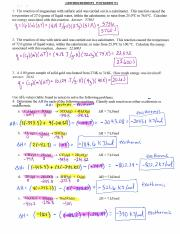 Thermochemistry WS 1 and 2 Answer Key scanned 2014.pdf