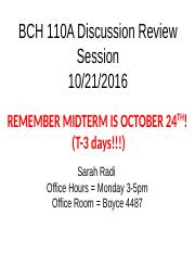 BCH 110A Midterm Review session 10-21-16.pptx