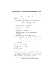 CPSC 513 Fall 2010 Assignment 6 Solutions