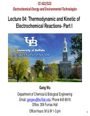 Lecture 04 Thermodynamic and Kinetic of Electrochemical Reactions- Part I.pdf