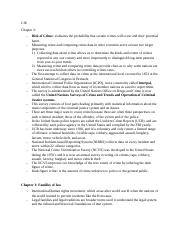 CJE chapter 1-4 notes and review