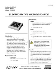Electrostatic Voltage Source