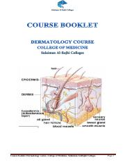Dermatology course booklet, Group A (2017-2018).pdf