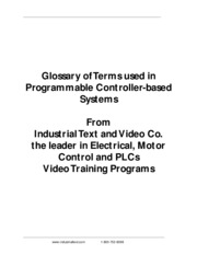 PLC Terms Glossary (IndustrailText) WW