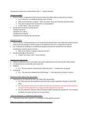 Seminar Notes - Invalid Contracts.docx